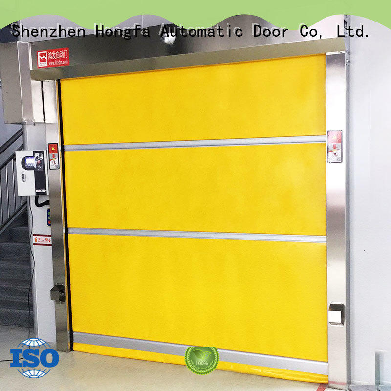 efficient fabric roll up doors interior widely-use for warehousing
