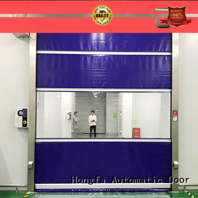 professional roll up high speed door fabric factory price for factory