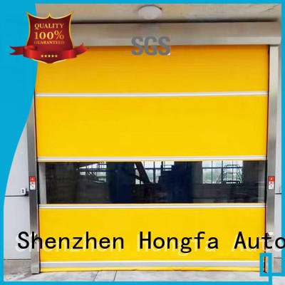 roller PVC fast door marketing for storage Hongfa