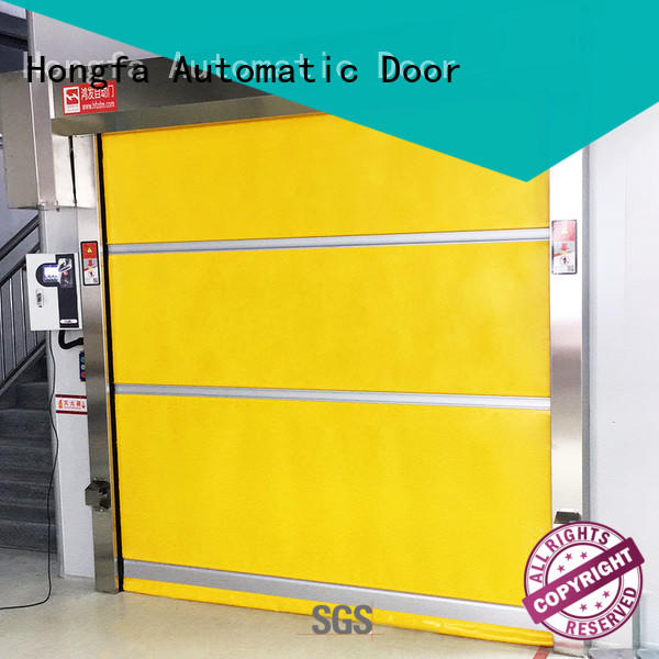 Hongfa automatic small roll up doors roll for supermarket