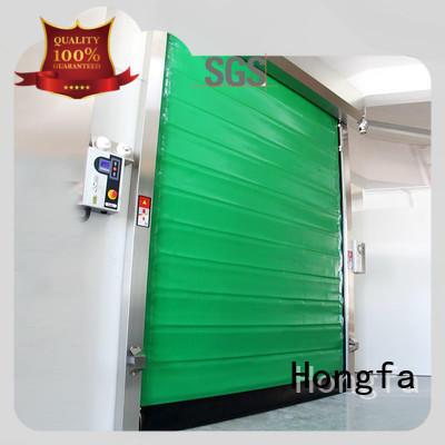 garage door storage application for cold storage room