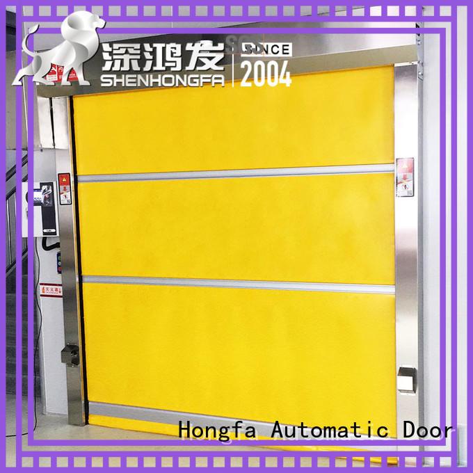 Hongfa perfect roll up door overseas market for factory