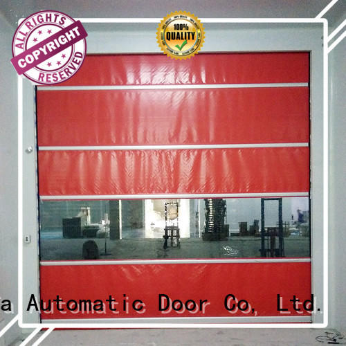 Hongfa curtain fabric roll up doors supplier for factory
