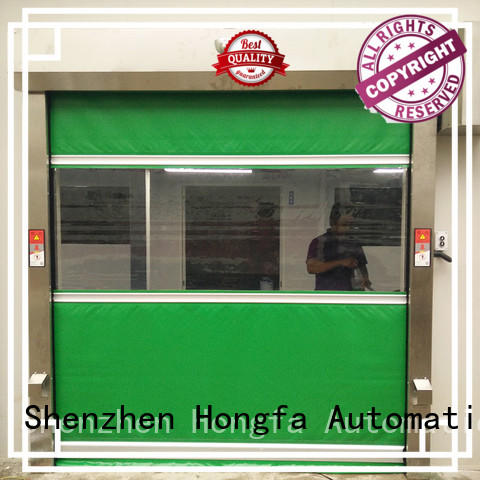 high-speed industrial automatic roll up doors clear supply for storage
