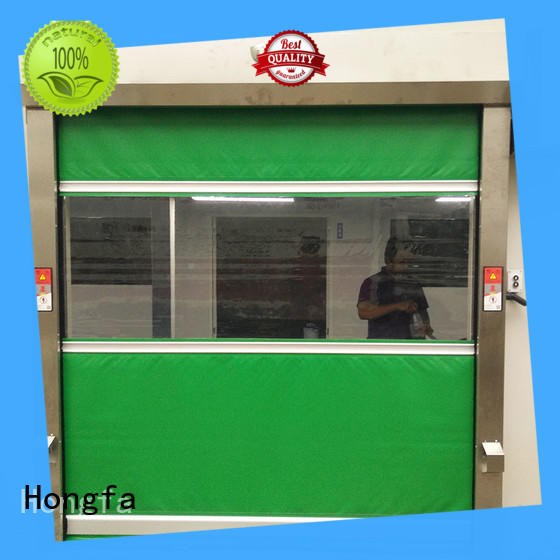 Hongfa high-quality automatic roll up door factory price for warehousing