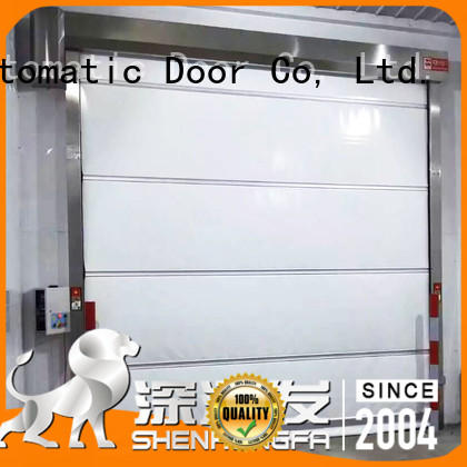 Hongfa efficient automatic roll up door in china for factory