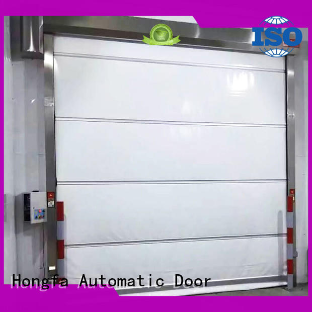 Hongfa safe fabric roll up doors supplier for storage