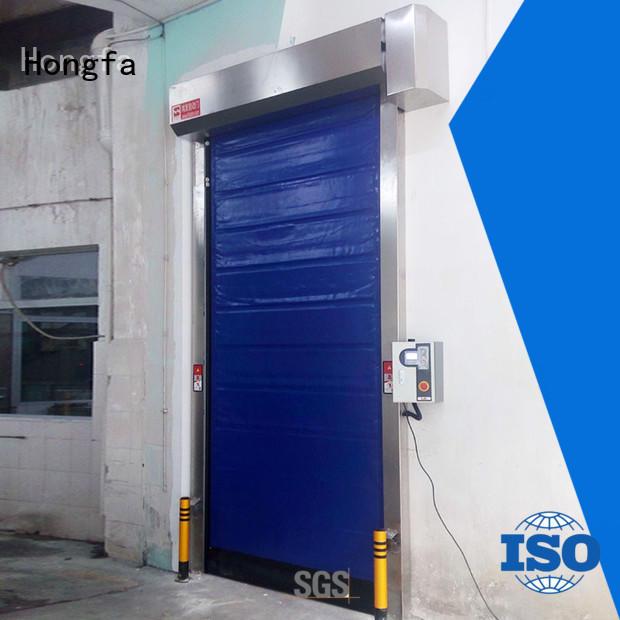 Hongfa cold storage doors popular for supermarket