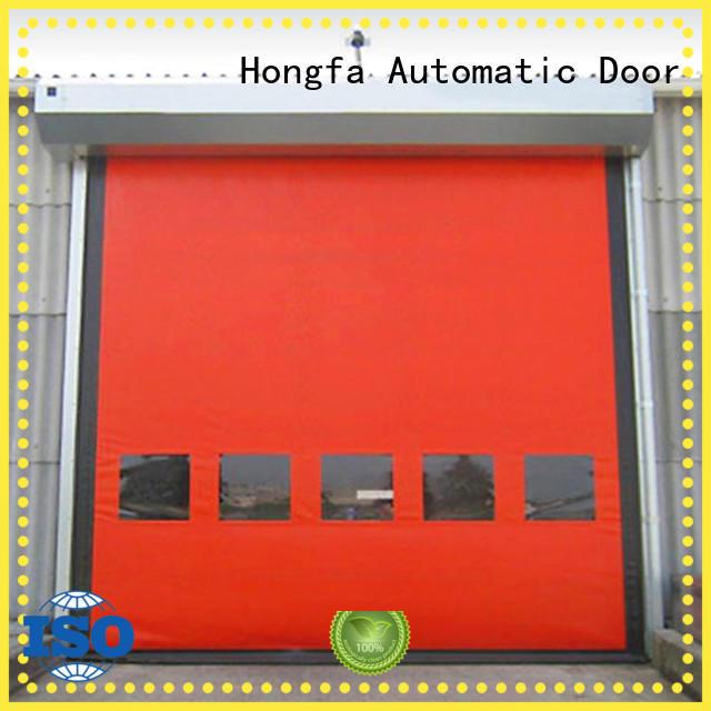 Hongfa competetive price custom roll up doors marketing for warehousing