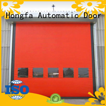 automatic zipper door speed effectively for food chemistry
