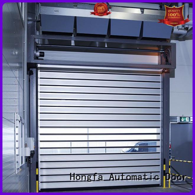 fast high speed spiral door speed for factory Hongfa