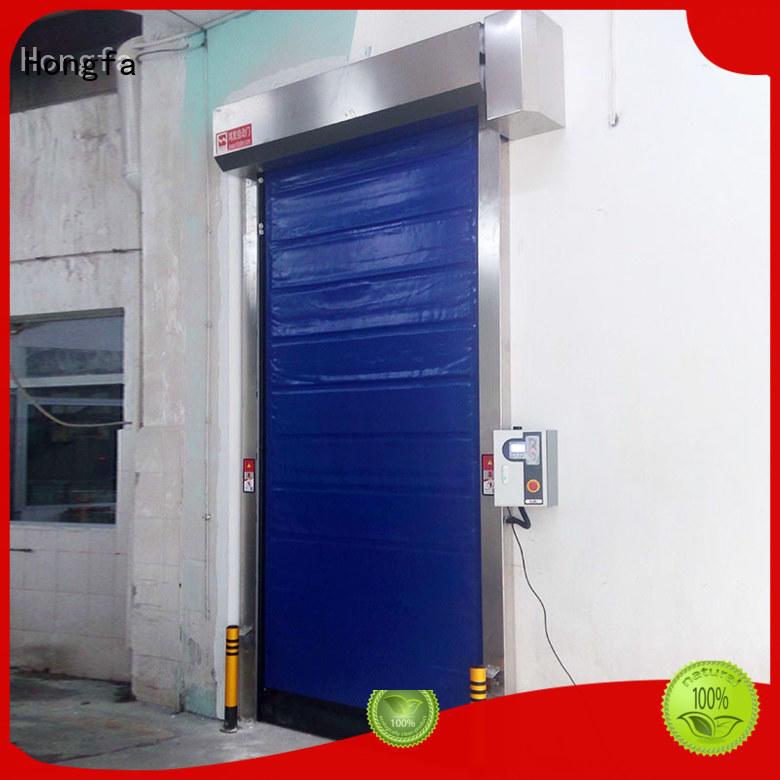 Hongfa high-speed cold storage doors manufacturer owner for warehousing