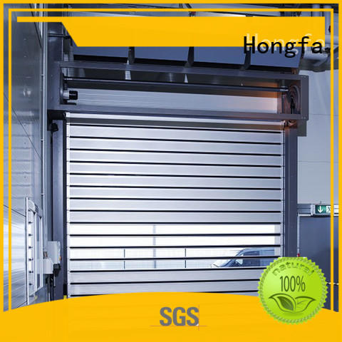 Hongfa fine-quality electric roll up door industrial for factory