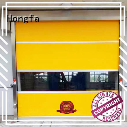 Hongfa automatic automatic roll up door widely-use for warehousing