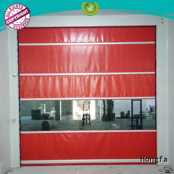 Hongfa high-speed high speed shutter door in different color for storage