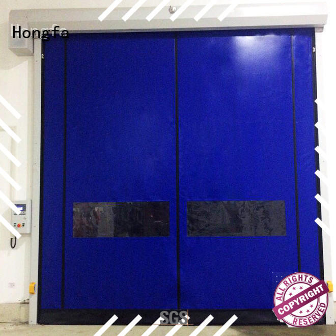 Hongfa hot-sale custom roll up doors supplier for warehousing
