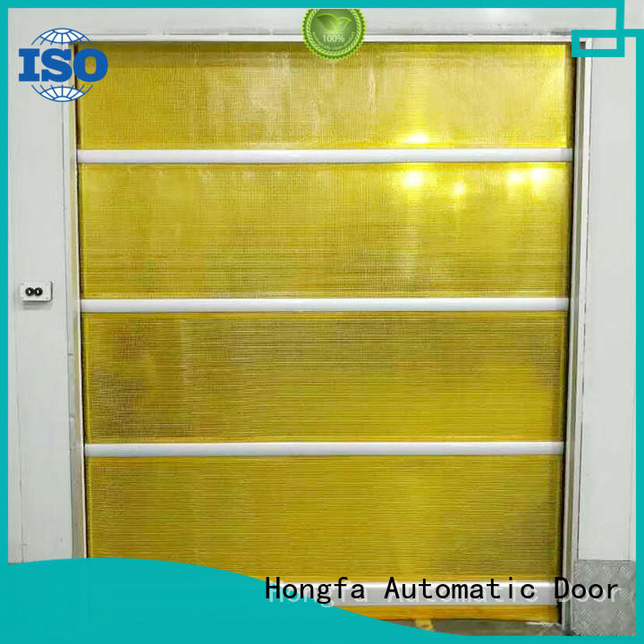 Hongfa custom vinyl roll up garage doors supplier for factory