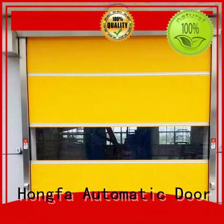 Hongfa interior high speed door factory price for storage