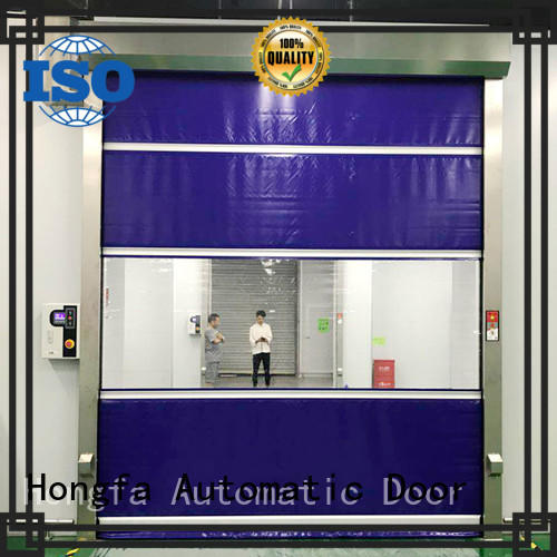 Hongfa automatic fabric door supplier for factory