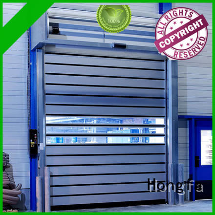 Hongfa high-tech electric roll up door dropshipping for factory