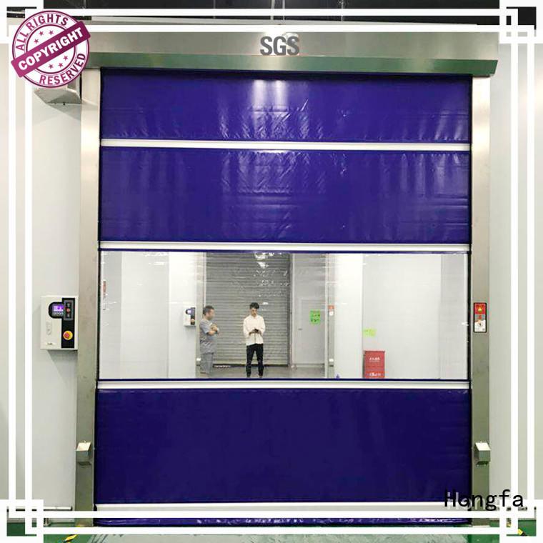 roll up doors interior roller for supermarket Hongfa