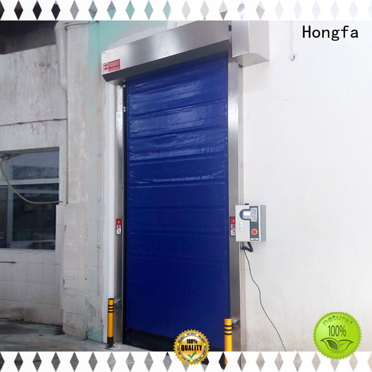 Hongfa high-tech cold storage doors manufacturer popular for warehousing