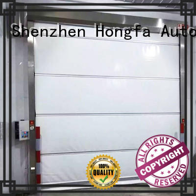 Hongfa perfect automatic roll up door overseas market for factory