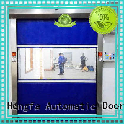 pvc remote roller roll up door Hongfa Brand company