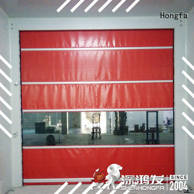 safe roll up high speed door clear widely-use for storage
