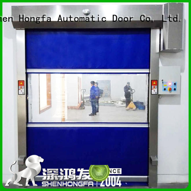 PVC fast door room supplier for warehousing
