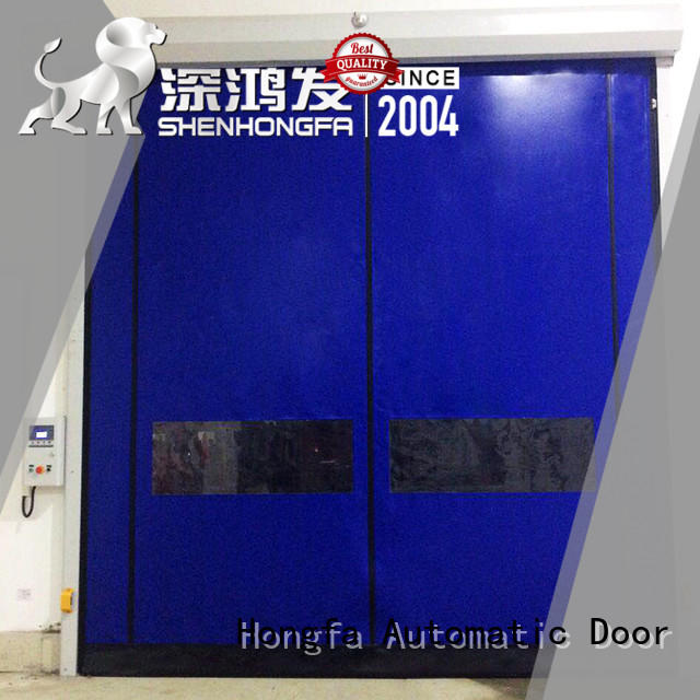 Hongfa perfect Self-repairing Door owner for warehousing