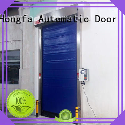 Hongfa efficient fast door effectively for cold storage room