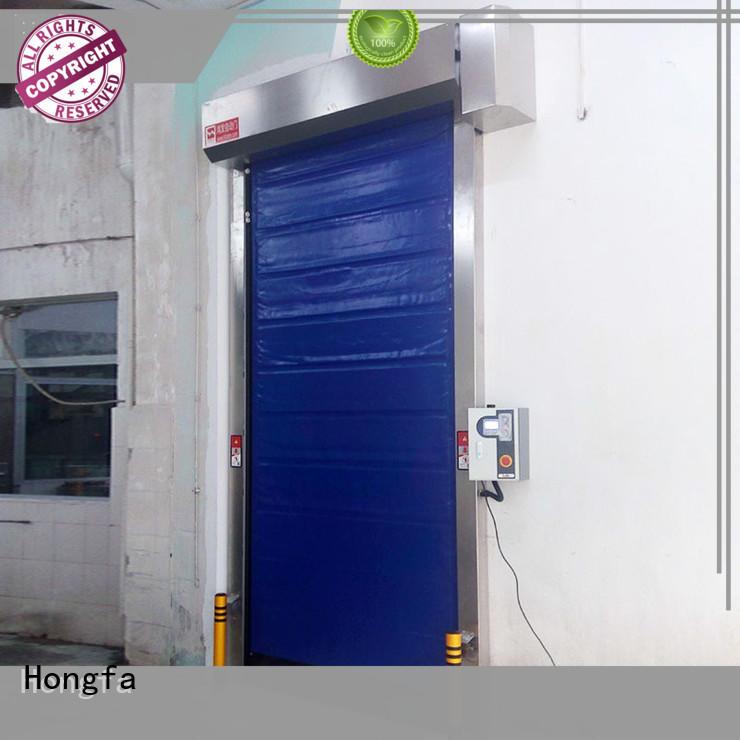 Hongfa efficient insulated pu foam door for warehousing