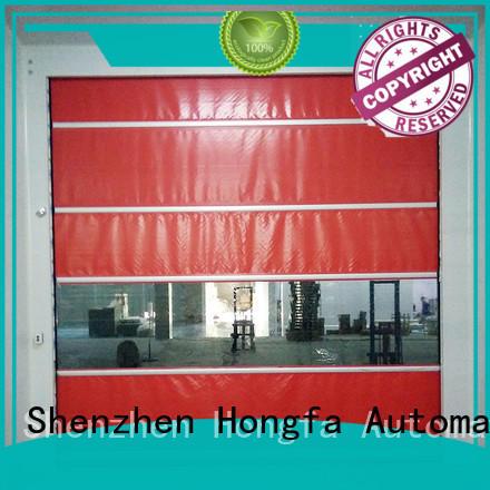 Hongfa high speed shutter door newly for food chemistry textile electronics supemarket refrigeration logistics