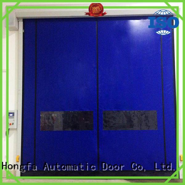 Hongfa hot-sale zipper door owner for warehousing
